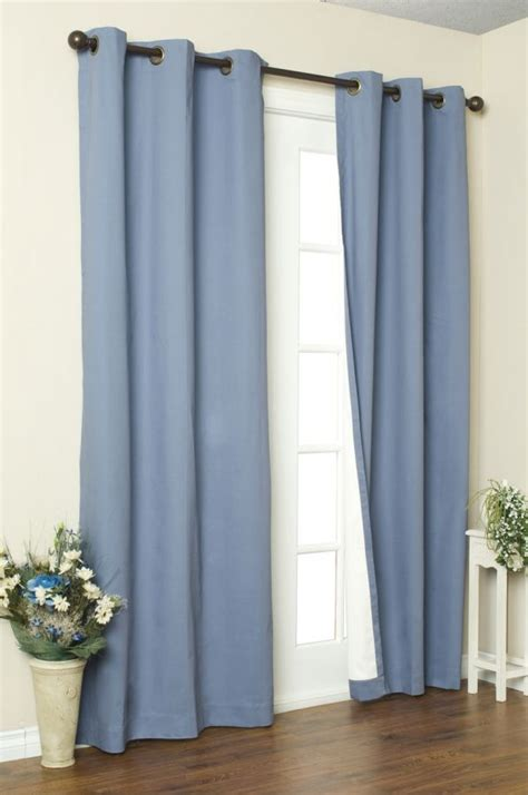 Insulated Window Treatments Commonwealth Weathermate Insulated Grommet Top Curtain