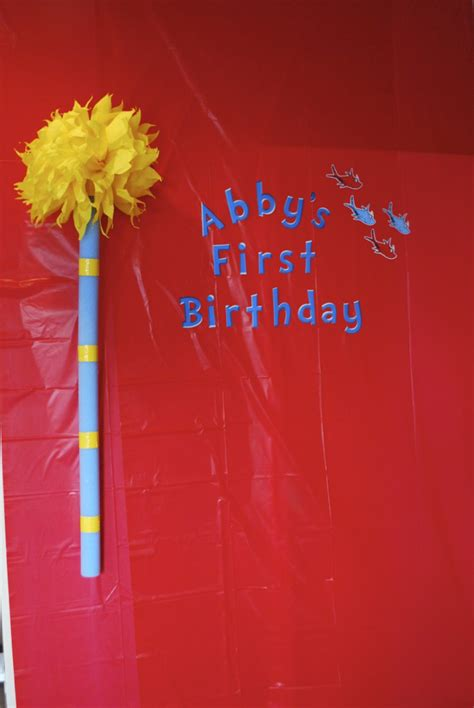Abigails Dr Seuss Themed  Ee  First Ee    Ee  Birthday Ee   Party Project
