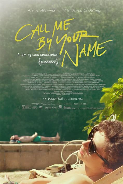 movie trailers call me by your name by armie hammer call me by your name poster teaser trailer