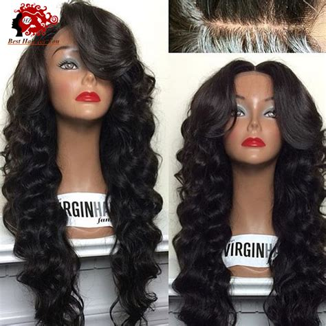 lace front wigs human hair wigs weave hairstyles beauty products malaysian loose wavy style human hair glueless full lace