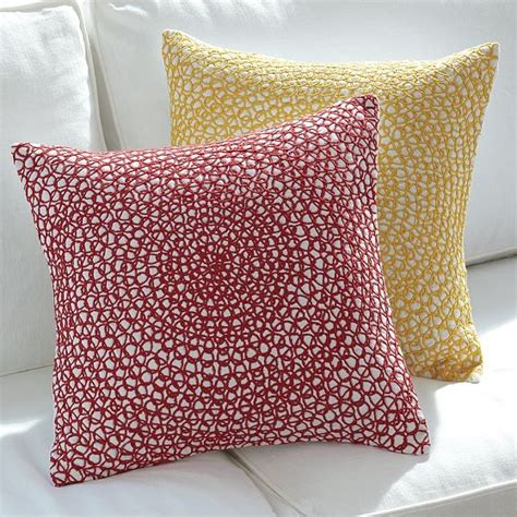 Modern Pillow Covers by Spiral Embroidery Pillow Covers Modern Decorative