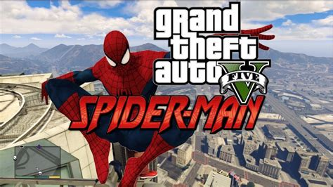 Mod Gta 5 Spiderman | gta 5 pc mods spiderman and superhero mod gameplay revealed
