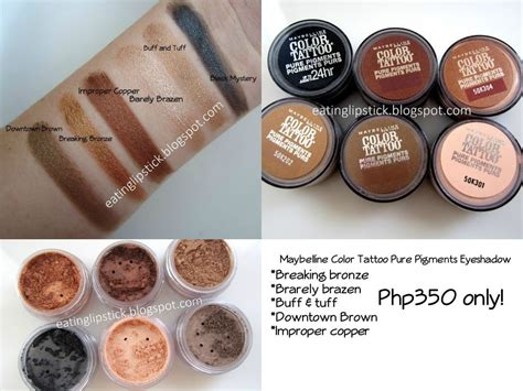 maybelline color pigments shop beauty89 maybelline color pigments