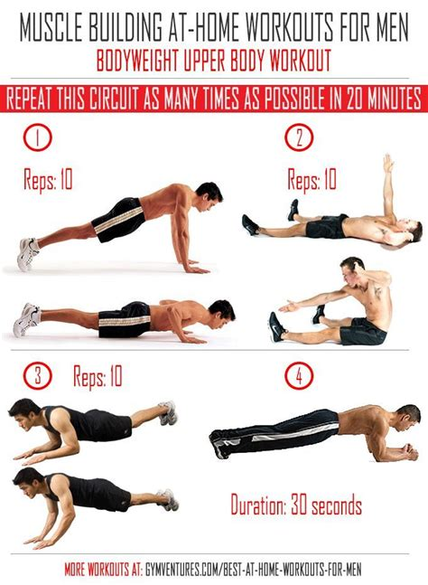 at home workouts for bodyweight workout