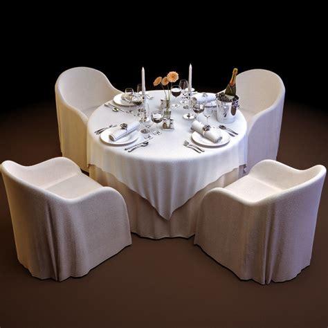 restaurant table cloth ideas tableware table cloth restaurant 3d model 3d