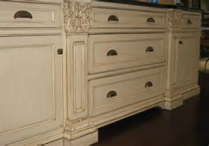 Distressed Antique White Kitchen Cabinets Distressed White Kitchen Cabinets Kitchen Mediterranean With Beadboard Cabinet Front
