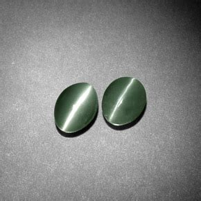 Green Chrisoberyl Cat 6 5 Ct chrysoberyl cat s eye 1 1ct oval from india and