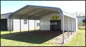 Metal Carport With Storage Utility Carport Plans Woodideas