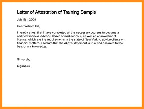 Attestation Authorization Letter 8 Photo Attestation Format Resume Setups