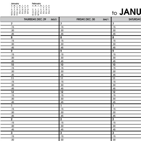 hourly appointment calendar template at a glance printable hourly calendars search results