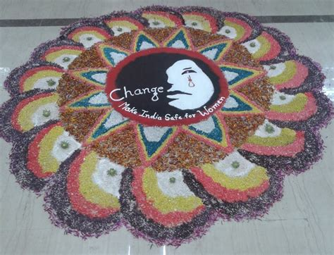 rangoli themes on social issues competition rangoli design rangoli rangoli design with