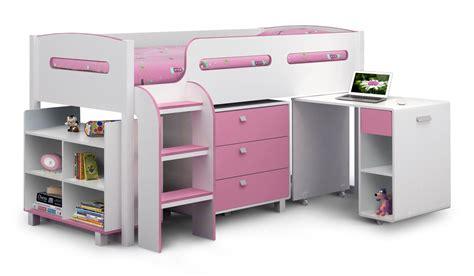 Low Cost Bunk Beds Julian Bowen Kimbo Cabin Pink Single Childrens Bed Hudson Bed In Batley