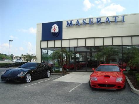Car Dealerships Port St Fl by Maserati Of Central Florida Orlando Fl 32810