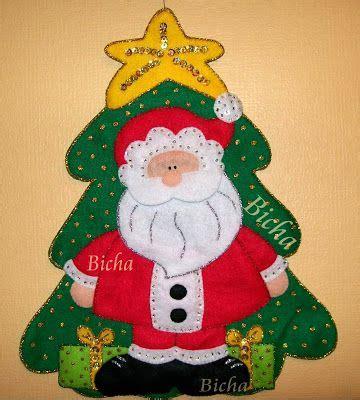 decorar friso navideño manualidades de bicha adornos para la puerta o pared