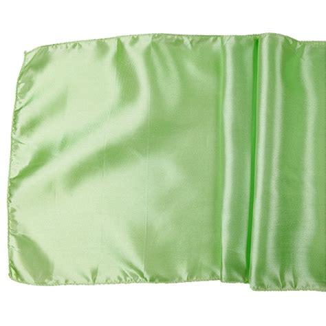 mint green table runner satin table runner solid mint green