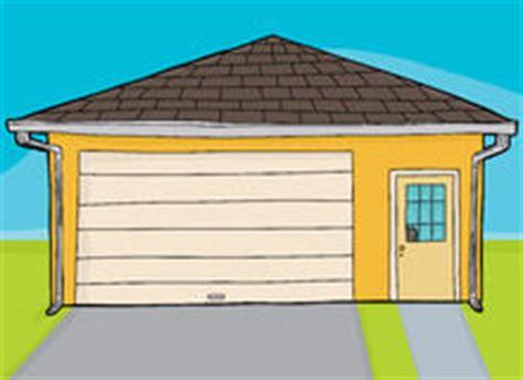 garage cartoon broken garage door stock vector image 40807605