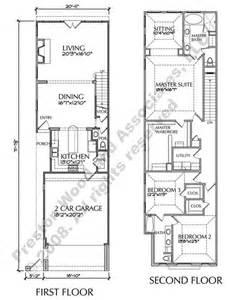 Narrow Townhouse Floor Plans catalog 187 townhouse plans 187 2301 2400 sq ft townhouse plans 187 d6050