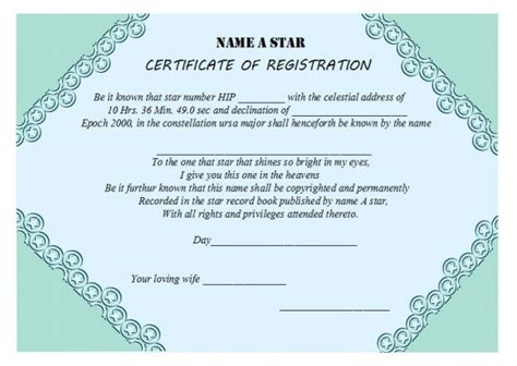 naming certificates free templates naming certificate templates 15 free official
