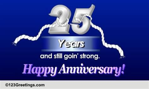 Silver Anniversary Wishes Free Milestones by Happy Silver Jubilee Free Milestones Ecards Greeting