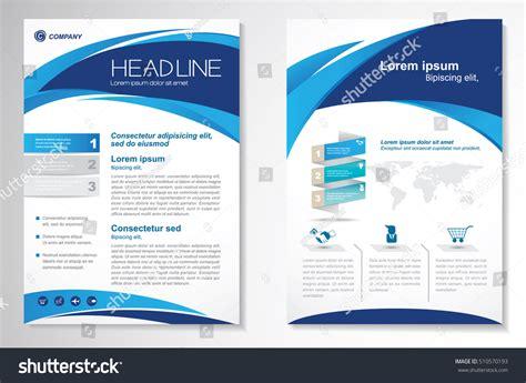 brochure design editor vector brochure flyer design layout template stock vector