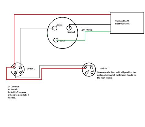 australian light switch wiring diagram clipsal light