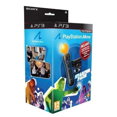 ps3 move sony playstation move starter pack accessoire console de