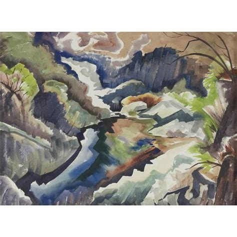 rugged land charles surendorf rugged land scape watercolor