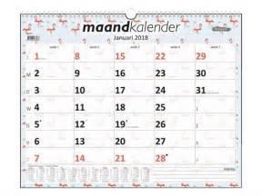 Kalender 2018 Kopen Maandkalender 2018 Foqus Flamingo Kopen Bestellen