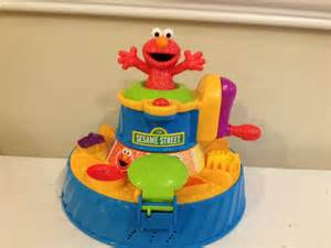 elmo play doh color mixer sesame play doh color mixer elmo sesame toys