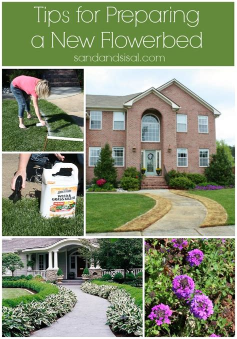 how to prepare a flower bed tips for preparing a new flower bed sand and sisal