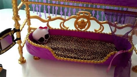 monster high bunk bed monster high clawdeen wolf bunk bed review youtube
