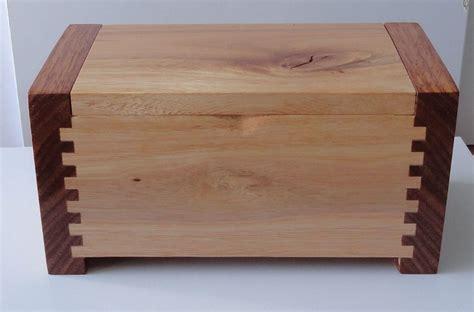 finger joints woodworking half blind finger joint box by knickknack lumberjocks