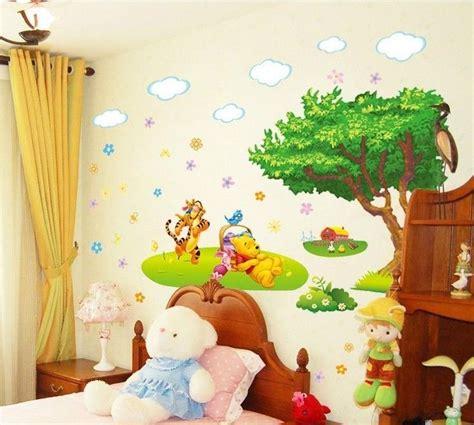 Winnie Pooh Nursery Decor Winnie The Pooh Tiger Large Removable Wall Sticker Decal Home Decor Nursery Kid Home And