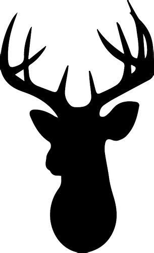 deer family head black and white clipart 20 free Cliparts