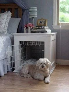 puppy crate in bedroom or not dog crate table on pinterest dog crate furniture dog