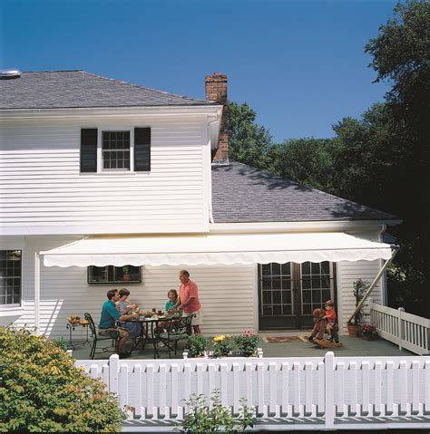 Sunsetter Awnings Reviews Sunsetter Motorized Retractable Awnings In La By Galaxy