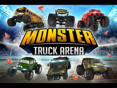 monster truck racing youtube monster truck arena driver 4x4 car racing games videos