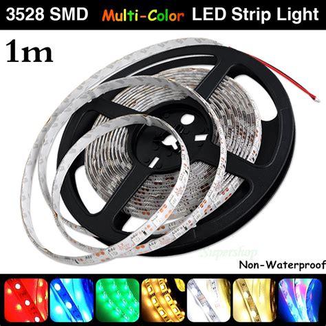 12v 3528 Smd 60 Leds 1m Led Strip Lights Battery Powered 1m Led Light
