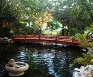landscape bridge garden bridge tropical landscape san diego by redwood garden bridges
