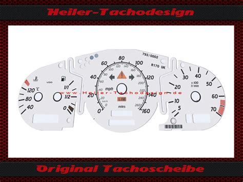 170 Kph In Mph by Tachoscheibe Tachofolie Tacho Folie Scheibe Meilen