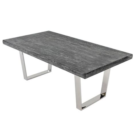 gray rectangle dining table vela gray wash 78 quot rectangular dining table cosas para