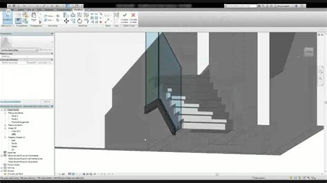 revit barandilla cristal modificaci 243 n de barandilla en revit youtube