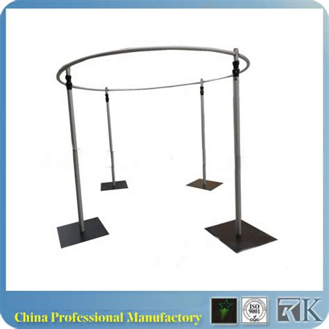 portable pipe and drape systems rk adjustable pipe drape portable pipe and drape round kits