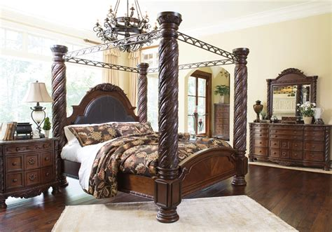 north shore bedroom set sale north shore king poster bedroom set lexington overstock