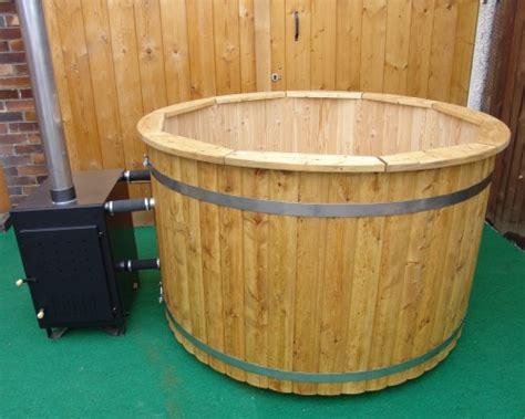 wood burning bathtub wood burning hot tub 1 7 meter siberian larch
