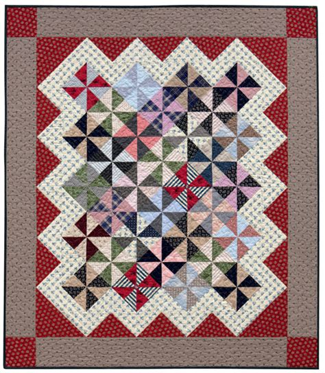 Triangle Patchwork Quilt Patterns - therapy compliments of your next scrap quilt stitch this
