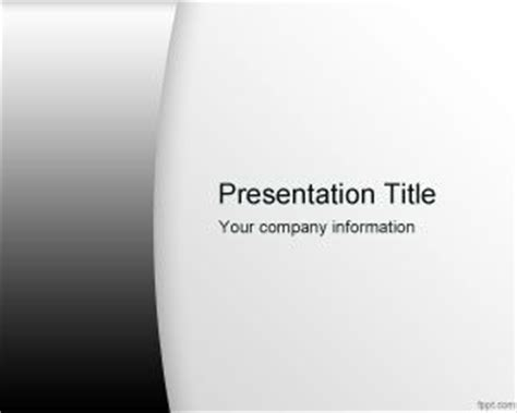Professional Black And White Powerpoint Template Best White And Black Powerpoint Templates