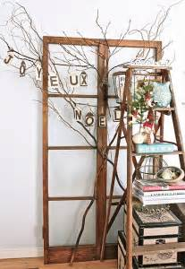 painting a wooden ladder for decorating ideas