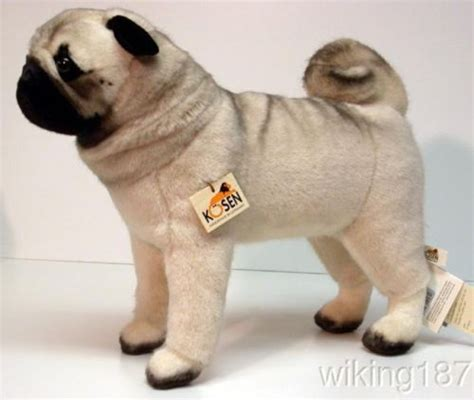 pug plushies kosen pug plush i would this for my collection pugs plush