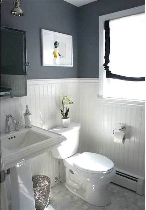 half bathroom paint ideas before after updating a half bath laundry room